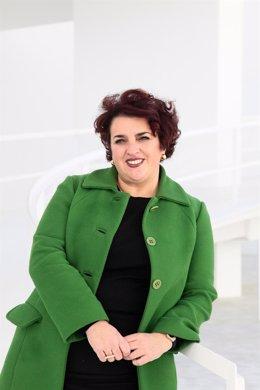 La secretaria general del PSOE de Granada, Teresa Jiménez