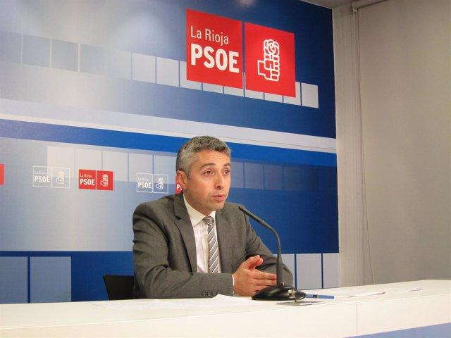 Francisco Ocón, secretario de Organización del PSOE riojano