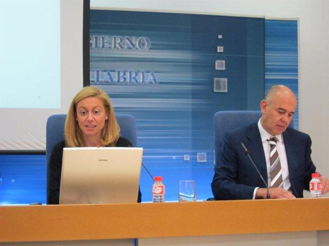 Mazas y Guitérrez en la presentación del PGC