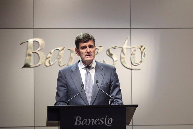 El Consejero Delegado De Banesto, José García Cantera