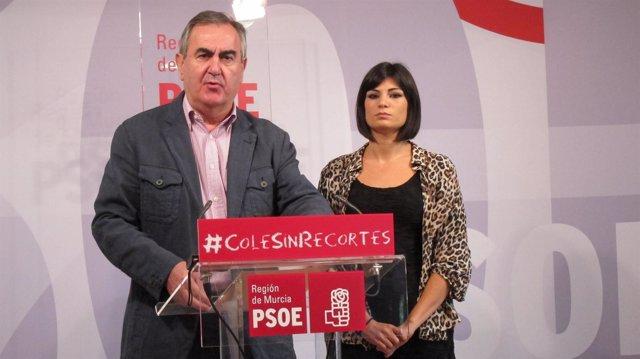 Rafael González Tovar y Inma Sánchez Roca en rueda de prensa