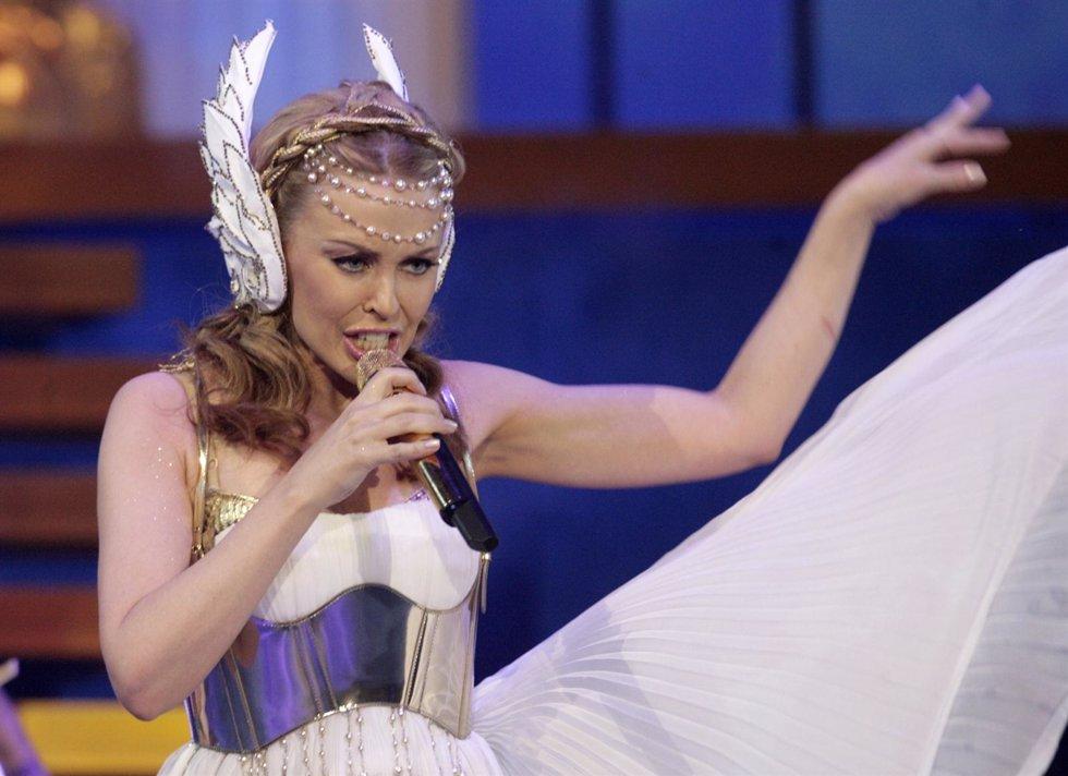 Kylie Minogue En Un Concierto