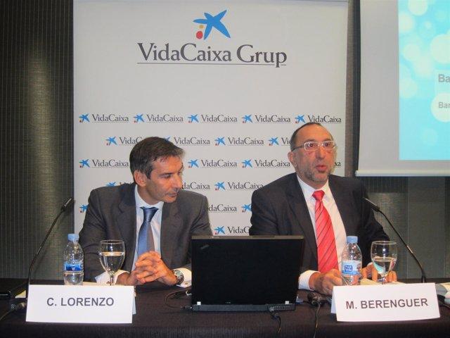 Carlos Lorenzo y Mario Berenguer presentan datos de VidaCaica Grupo