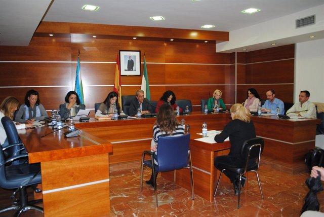 Pleno extraordinario en Otura, con Pedro Cabanillas como alcalde