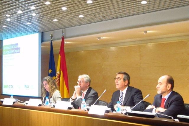 Barómetro de clima empresarial en España del IESE e Invest in Spain