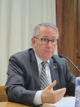 El rector de la UB, Dídac Ramírez