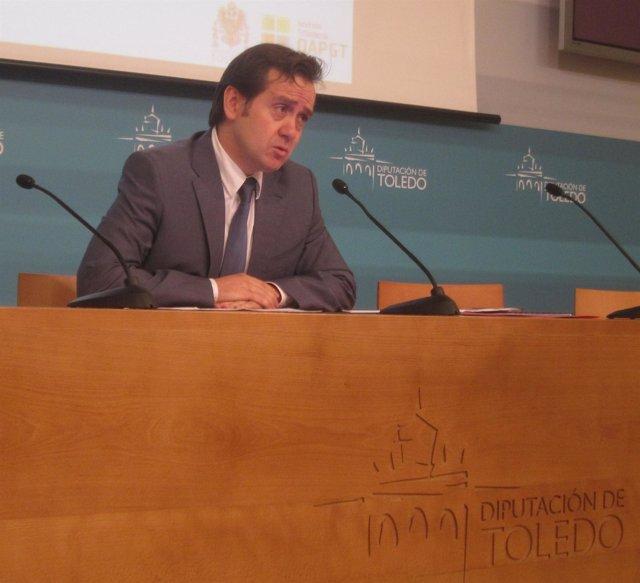 Presidente del OAPGT de la Diputación de Toledo, Juan José Gómez-Hidalgo