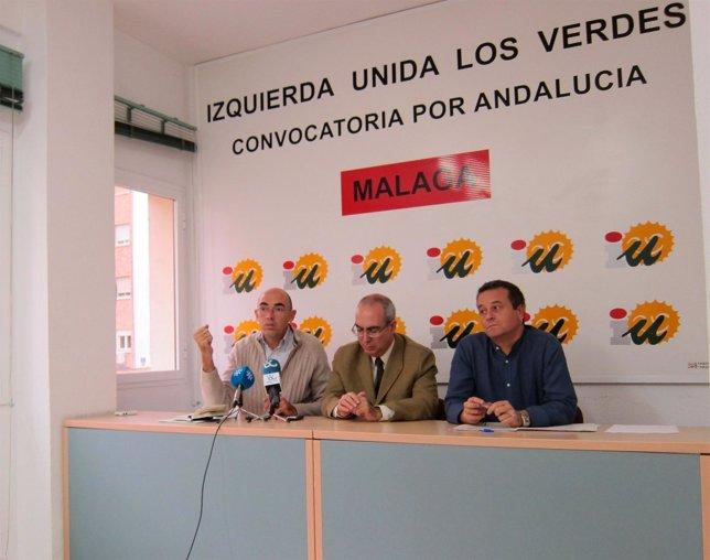 Eduardo Zorrilla, Pedro Moreno Brenes y José Antonio Castro