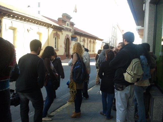Protesta por detenidos de Resistencia Galega