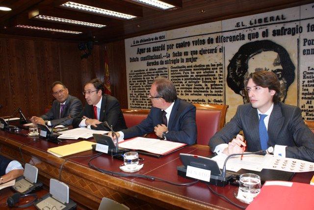 Alfonso Polanco en el Senado