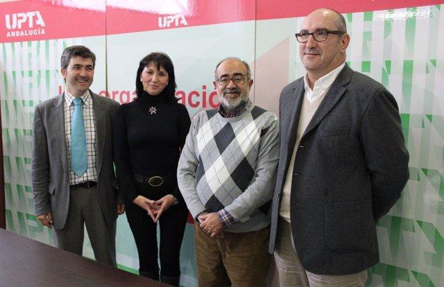 Imagen del encuentro entre PA y UPTA-A