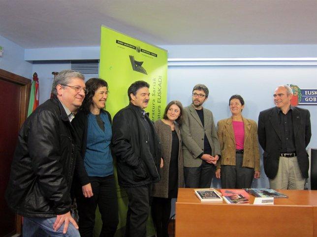 Galardonados con los Premios Literarios Euskadi 2012