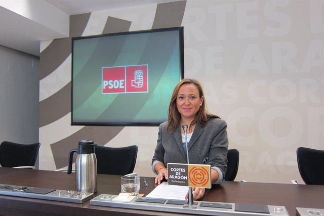 La diputada del PSOE en las Cortes de Aragón, Maite Pérez