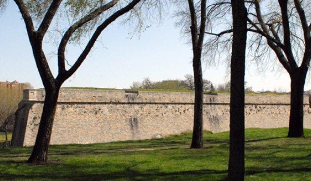 Murallas de Pamplona.