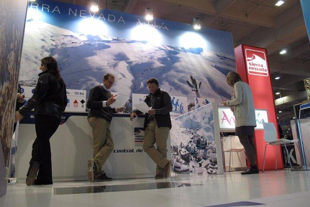 Expositor Sierra Nevada en Ski Show Londres