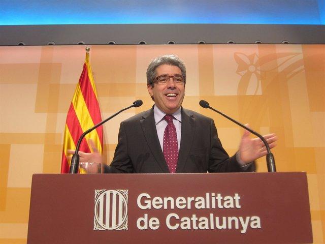 Francesc Homs, portavoz del Govern