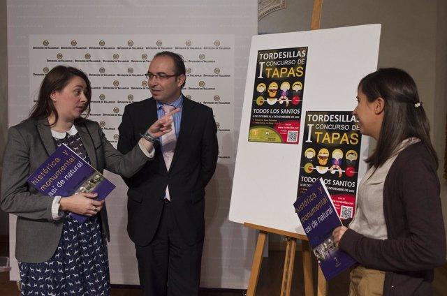 Presentación del I Concurso de Tapas 'Todos los Santos'