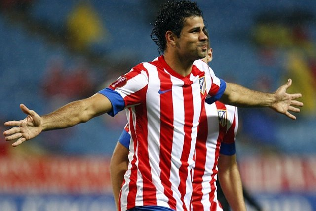 Diego Costa Atletico De Madrid