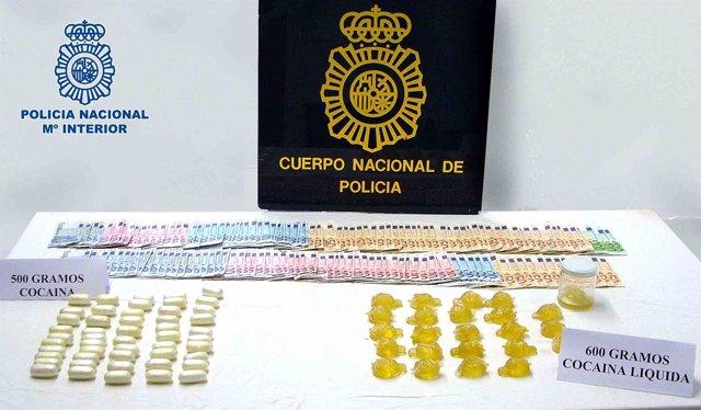 Material requisado en Lanzarote