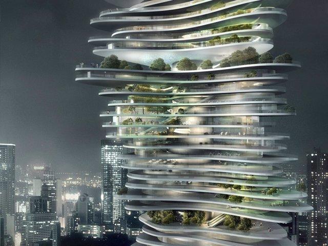 Proyecto del arquitecto Ma Yansong