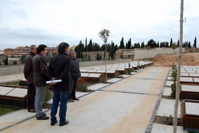 Visita al cementerio municipal de Soria