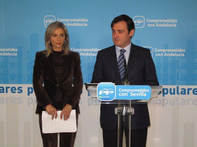 Patricia del Pozo y Eloy Carmona.