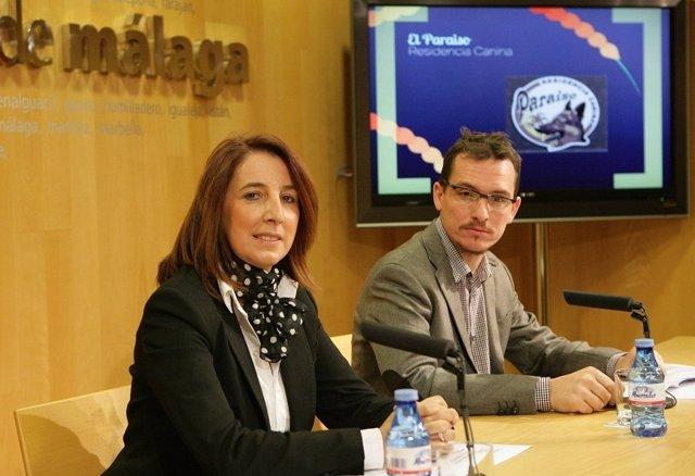 La diputada de Educación y Juventud, Antonia Ledesma, en rueda de prensa