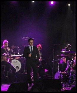 David Bustamante en concierto