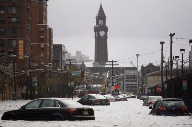 Nueva Jersey inundada tras el paso de 'Sandy'