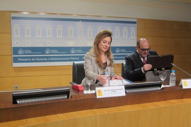La secretaria de Estado de Presupuestos, Marta Currás