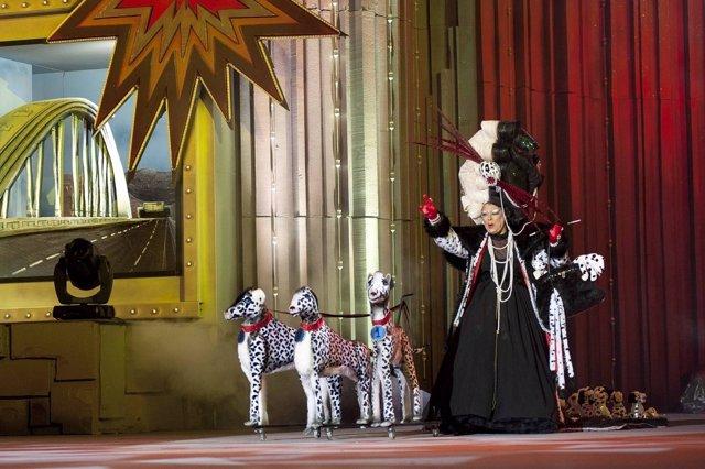 Concurso de disfraces de adultos en el Carnaval de Las Palmas de Gran Canaria