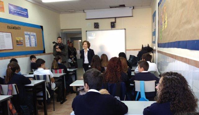 Jornada 'Back to School' en Colegio Católico San Vicente de Paul, en El Palmar