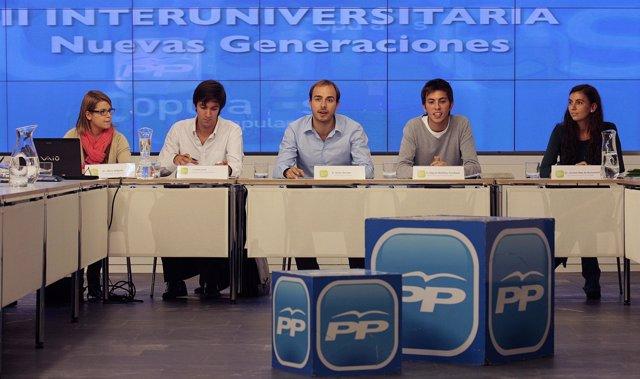 II INTERUNIVERSITARIA NUEVAS GENERACIONES PP