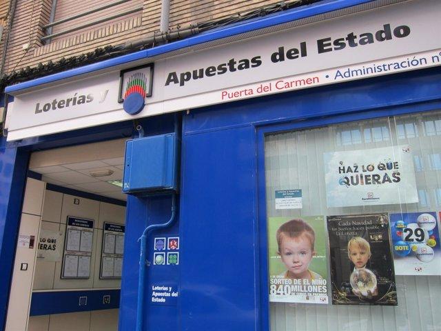 Loterias Del Estado En Zaragoza.