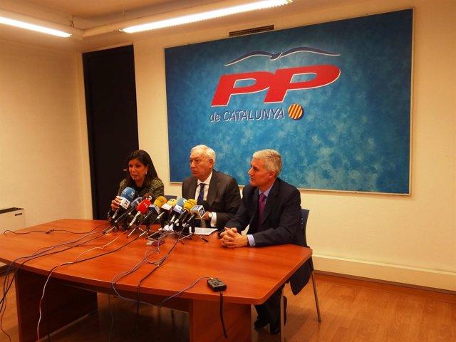 El ministro de Asuntos Exteriores, J.M. García Margallo