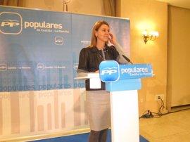 """Cospedal cree que el PSOE """"tiene que dejar bien claro"""" cuál es el modelo territorial que defiende para el país"""