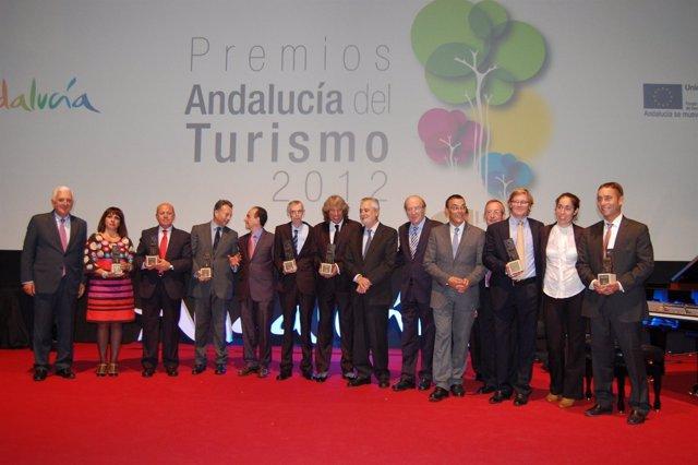 Griñán entrega los Premio Andalucía de Turismo