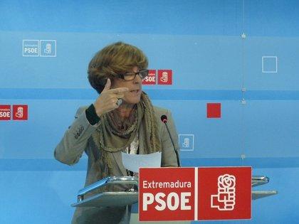 """PSOE asegura que los PGEx son un """"reflejo del cambio de modelo sanitario"""" propuesto por el PP"""