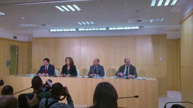 Rueda de prensa Madrid Arena en el Ayuntamiento