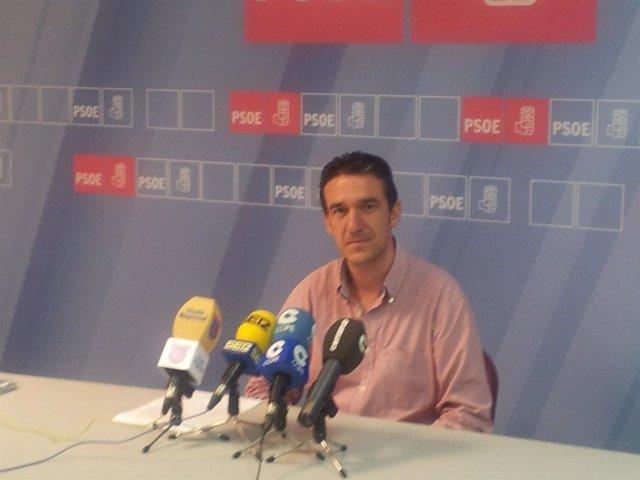 El secretario general de la Agrupación Socialista Lorquina, Daniel Martínez