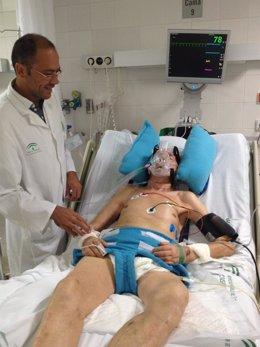 Sistema de inmovilización para encamados del médico cordobés