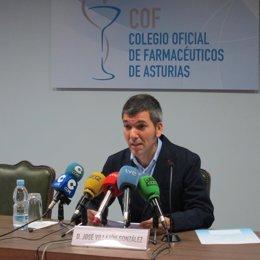 Presidente Del Colegio De Farmacéuticos De Asturias, José Villazón