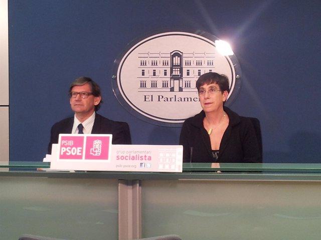 Vicenç Thomàs y Joana Barceló