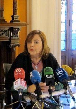Presidenta del Micof, María Teresa Guardiola