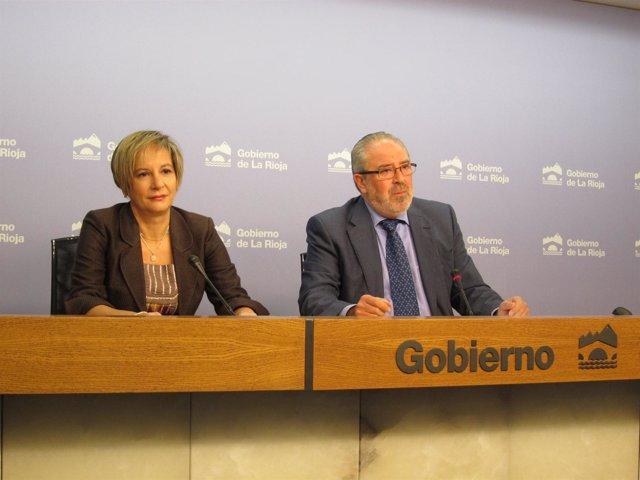 Nieto y De los Mártires en comparecencia de prensa