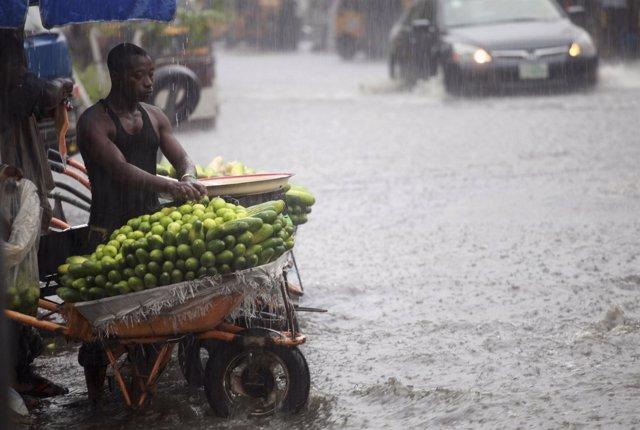 Inundaciones en Nigeria