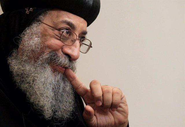 El nuevo papa egipcio Tawadros