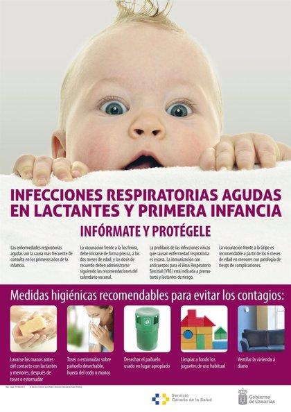 Sanidad impulsa una campaña para prevenir infecciones respiratorias en lactantes