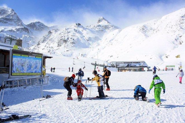 Estación de esquí del Grupo Aramón