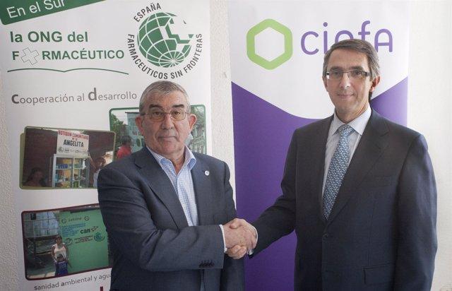Acuerdo de colaboración entre Farmacéuticos Sin Fronteras y Cinfa
